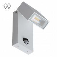 807021601 Уличный настенный светодиодный светильник с датчиком