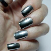 Masura зеркальная пудра для ногтей серебро