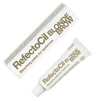 Refectocil краска для бровей и ресниц блонд