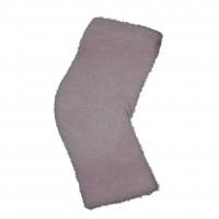 спа носки гелевые розовые открытые без пальцев (махровые