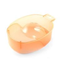 Tnl ванночка для маникюра (прозрачно оранжевая