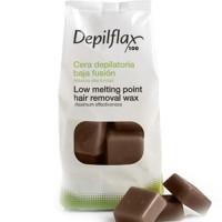 Depilflax воск горячий в дисках шоколад 1кг