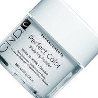 Cnd sculpting powder perfect white shimmer пудра
