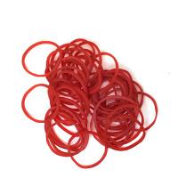 резинки для волос красные tianba