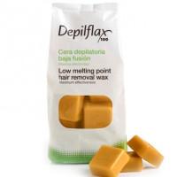 Depilflax воск горячий в дисках золото 1кг