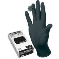 перчатки manual bn117 нестерильные нитриловые черные