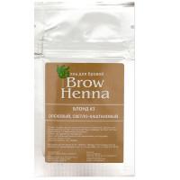 Brow henna хна для бровей блонд