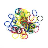 резинки для волос разноцветные tianba