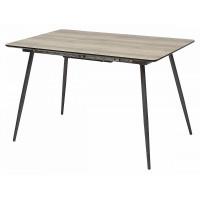 Стол PEPPER GREY #4 дуб серо коричневый/ серый