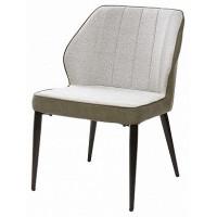 Стул кресло RIVERTON светло серый меланж FC 01/экокожа
