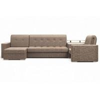 Угловой диван Ибица с креслом и столиком