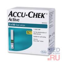 Тест полоски Accu Chek Active (100 шт/уп)
