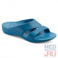 L9006W Aetrex шлепанцы синие