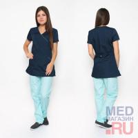 Костюм медицинский жен. М 185А ткань Тиси