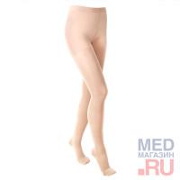 """ID 100T(полупрозрачные)Колготки медицинские компрессионные""""LUOMMA IDEALISTA""""(2 класс,закрытый носок)"""