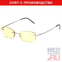 Компьютерные очки (Федорова) релаксационные комбинированные в титановой