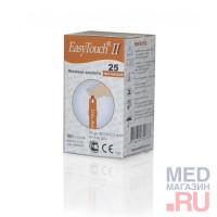 Тест полоски на мочевую кислоту EasyTouch (ИзиТач),