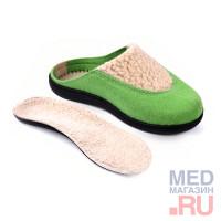 """LM 403.004 Обувь ортопедическая малосложная """"LUOMMA"""", Зеленый"""