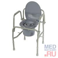 Кресло туалет с откидными ручками 10583