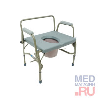 Кресло туалет арт. 10582 повышенной грузоподъемности