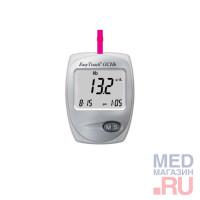 Портативный анализатор глюкозы,холестерина,гемоглобина EasyTouch GCHb