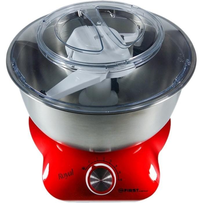 Миксер-тестомес FIRST Мощность: 800 Вт. Емкость чаши: 5 л, красный