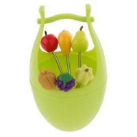 Набор шпажек для канапе в виде фруктов