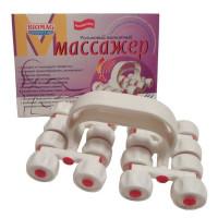 Роликовый магнитный массажер