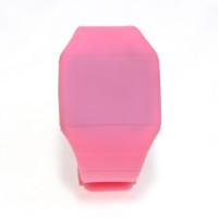 Ультратонкие силиконовые LED часы Nexer G1206, Квадратные,