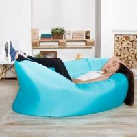 Надувной диван Биван   гамак Ламзак, синий