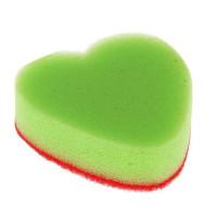 Губка для мытья посуды   Сердце