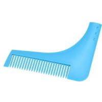 Расческа   шаблон для бритья бороды,