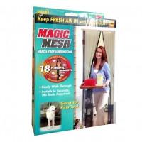 Магнитная шторка   москитная сетка Magic Mesh