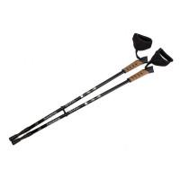 Палки карбоновые телескопические для скандинавской ходьбы
