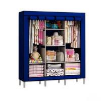 Мобильный тканевый шкаф Storage Wardrobe, синий