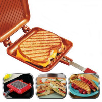 Двойная сковорода для бутербродов Red Copper Flipwich