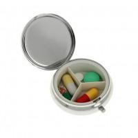Таблетница круглая, диаметр 5 см
