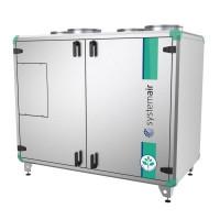 Приточно вытяжная установка с пластинчатым рекуператором Systemair