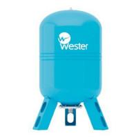 Синий расширительный бак Wester