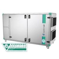 Приточно вытяжная система вентиляции промышленного здания Systemair