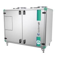 Приточно вытяжная установка с электрическим подогревом воздуха