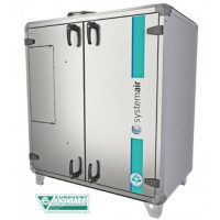 Компактная промышленная вентиляционная установка с рекуперацией Systemair