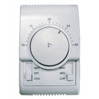 Индивидуальный проводной термостат для управления канальными четырехтрубными