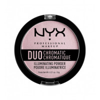NYX PROFESSIONAL MAKEUP Сухой хайлайтер Duo Chromatic