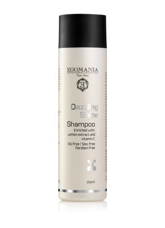 Шампунь для придания блеска волосам EGOMANIA