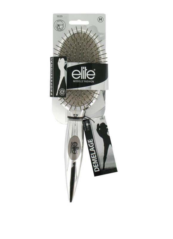 Щетка массажная с металлическими зубьями ELITE