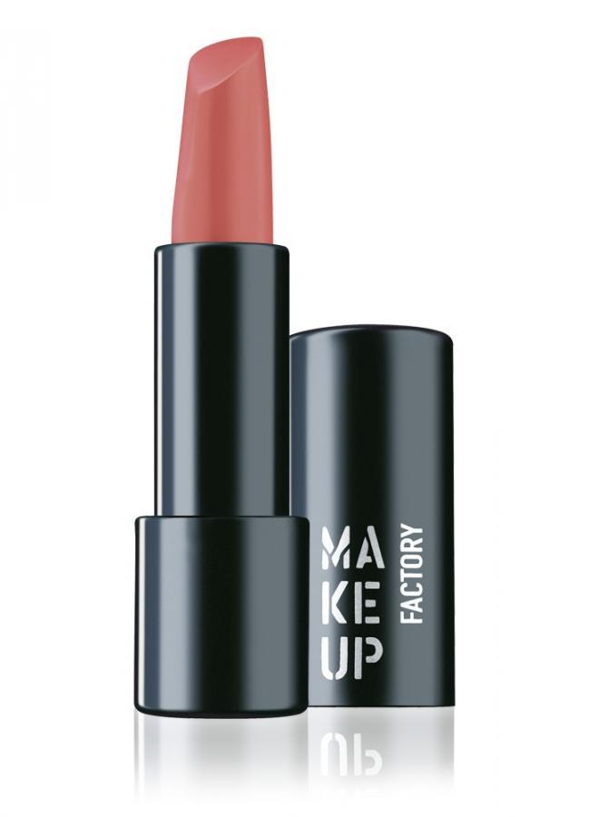 Помада для губ полуматовая Розовый Nude MAKE UP FACTORY