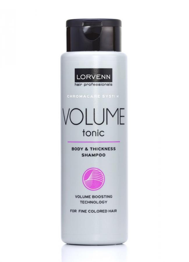Шампунь для объема тонких и окрашенных волос LORVENN