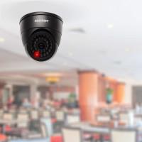 Муляж видеокамеры купольный Rexant внутренняя установка черный