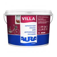 Краска водно дисперсионная для деревянных фасадов Aura